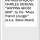 The Anthropofferjist Charles Dickens: