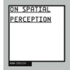 On Spatial Perception by Nina Czegledy