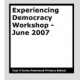 Experiencing Democracy Workshop eBook by Year 4, Jenny Hammond Primary School