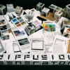 Diffusion Shareables postcard
