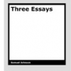 Three Essays by Samuel Johnson