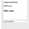 Urban Tapestries: a brief introduction by Giles Lane
