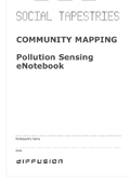 Pollution Sensing eNotebook