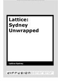 Lattice::Sydney Unwrapped